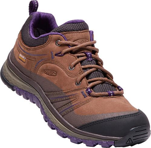 Keen Terradora Leather WP Shoes Women Scotch/Mulch US 6,5
